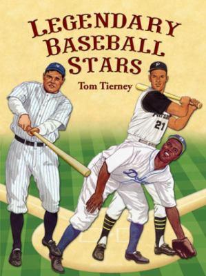 Legendary Baseball Stars Paper Dolls