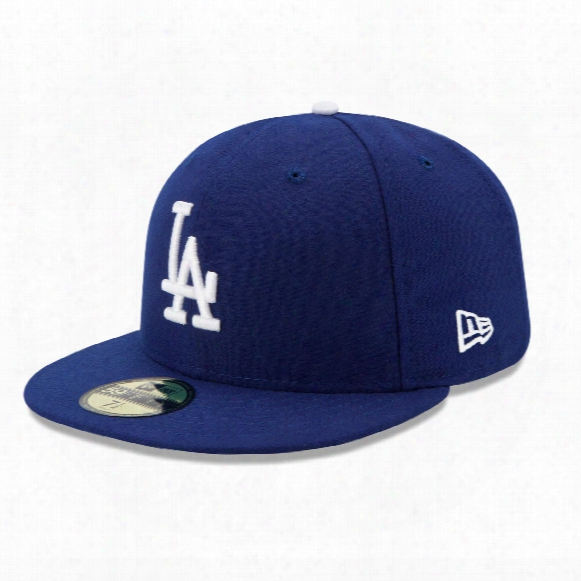 Los Angeles Dodgers 2017 59fifty A Uthentic Fitted Performance Game Mlb Baseball