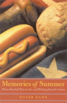 Memories Of Summer: When Baseball Was An Art, And Writing About It A Game