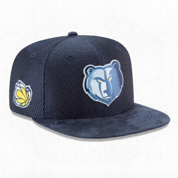 Memphis Grizzlies New Era Nba 2017 On Court Collection Draft 9fifty Snapback Cap