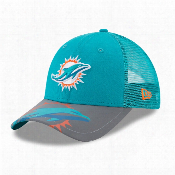 Miami Dolphins Youth Mega Flect 9forty Cap