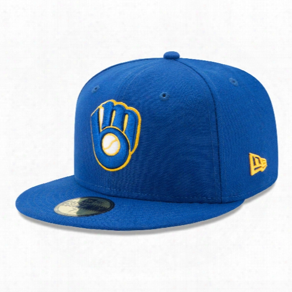 Milwaukee Brewers 2017 59fifty Authentic Fitted Performance Alternate Mlb