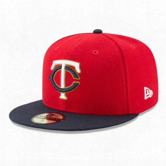Minnesota Twins 2017 59fifty Authentic Fitted Performance Alternate 2 Mlb