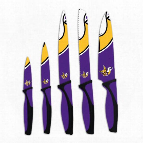 Minnesota Vikings 5-piece Kitchen Knife Set