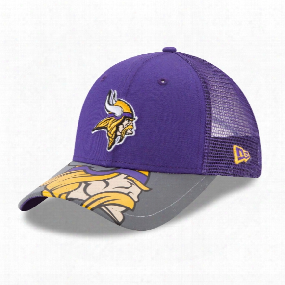 Minnesota Vikings Youth Mega Flect 9forty Cap