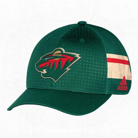 Minnesota Wild Nhl 2017 Adidas Official Draft Day Cap