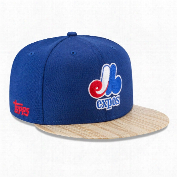 Montreal Expos Cooperstown Mlb X Topps 1987 9fifty Snapback Cap