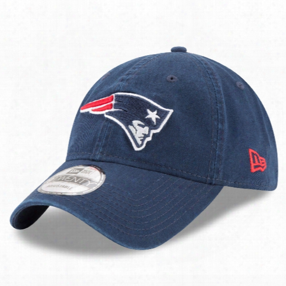 New England Patriots Core Classic Primary Relaxed Fit 9twenty Cap