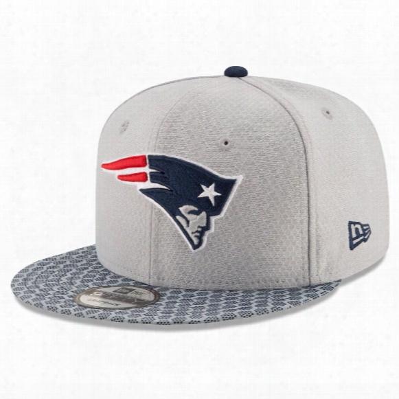 New England Patriots New Era 9fifty Nfl 2017 Sideline Snapback Cap