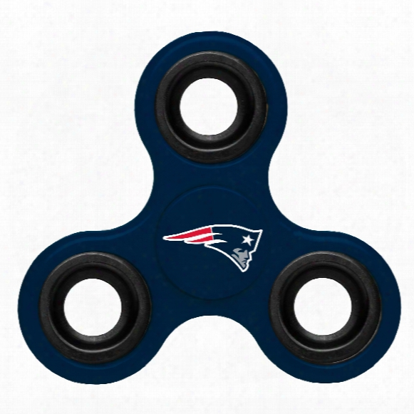 New England Patriots Nfl 3-way Diztracto Spinner