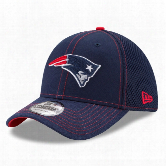 New England Patriots Nfl New Era Shadow Burst 39thirty Cap