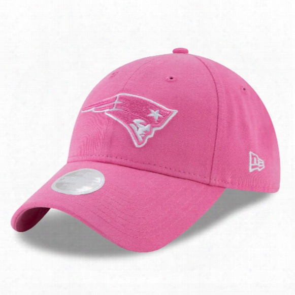 New England Patriots Nfl Women's Preferred Pick Relaxed Fit 9twenty Cap - Pink