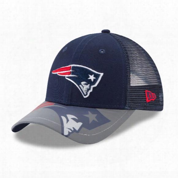 New England Patriots Youth Mega Flect 9forty Cap