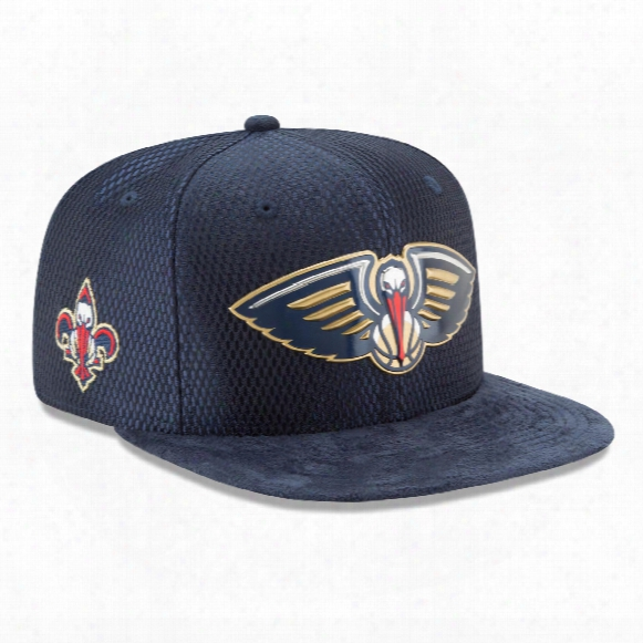 New Orleans Pelicans New Era Nba 2017 On Court Collection Draft 9fifty Snapback