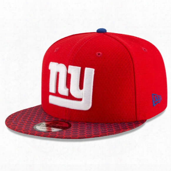 New York Giants New Era 9fifty Nfl 2017 Sideline Snapback Cap