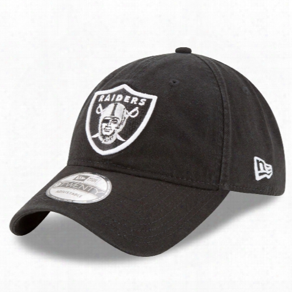 Oakland Raiders Core Classic Primary Relaxed Fit 9twenty Cap