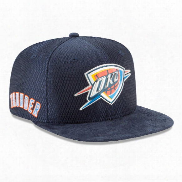 Oklahoma City Thunder New Era Nba 2017 On Court Collection Draft 9fifty Snapback
