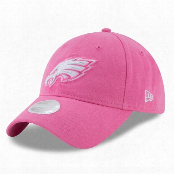 Philadelphia Eagles Nfl Women's Preferred Pick Relaxed Fit 9twenty Cap - Pink