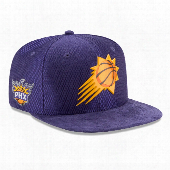 Phoenix Suns New Era Nba 2017 On Court Collection Draft 9fifty Snapback Cap