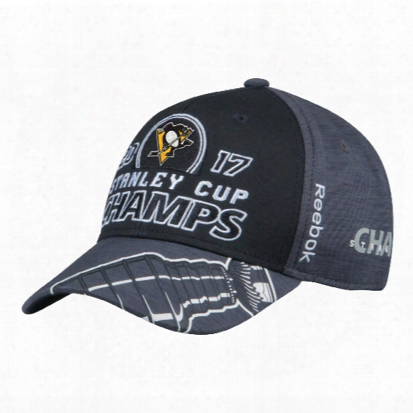 Pittsburgh Penguins 2017 Stanley Cup Champions Locker Room Hat