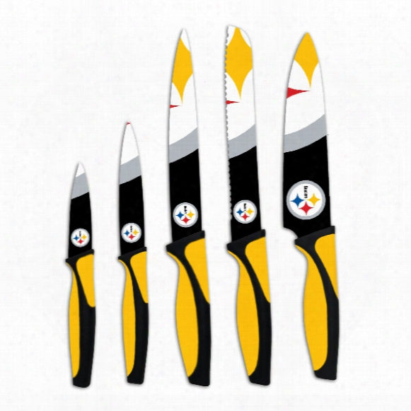 Pittsburgh Steelers 5-piece Kitchen Knife Set