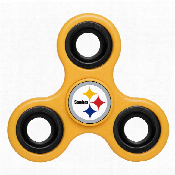 Pittsburgh Steelers Nfl 3-way Diztracto Spinner