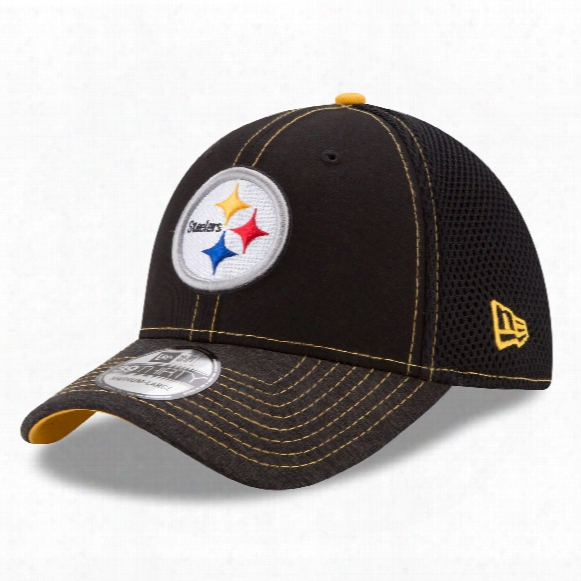 Pittsburgh Steelers Nfl New Era Shadow Burst 39thirty Cap