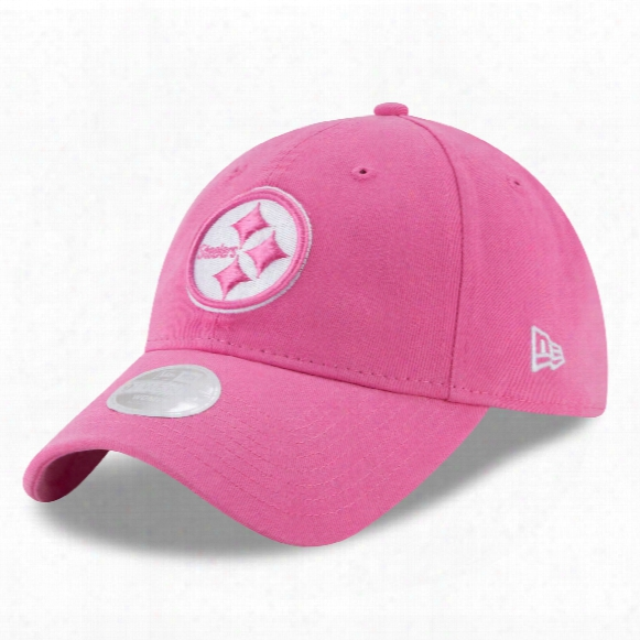 Pittsburgh Steelers Nfl Women's Preferred Pick Relaxed Fit 9twenty Cap - Pink