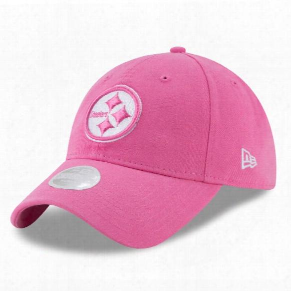 Pittsburgh Steelers Nfl Women's Preferred Pick Relaxed Fit 9twenty Cap - Pink