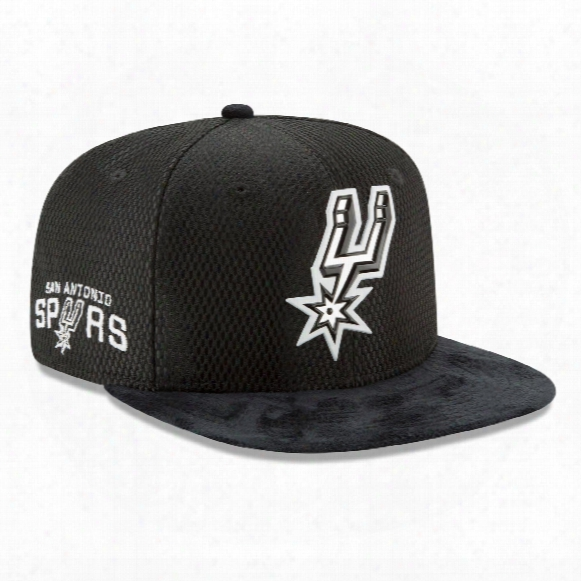 San Antonio Spurs New Era Nba 2017 On Court Collection Draft 9fifty Snapback Cap