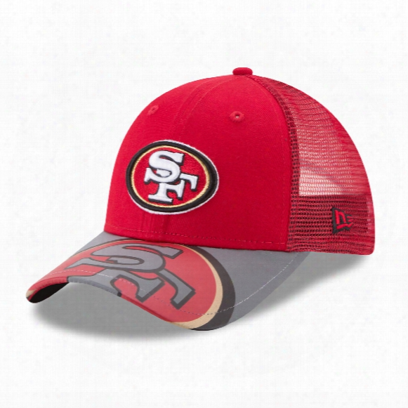 San Francisco 49ers Youth Mega Flect 9forty Cap