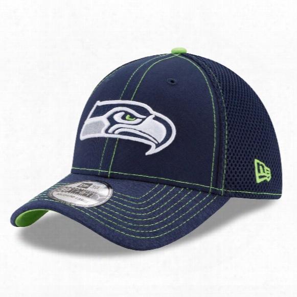 Seattle Seahawks Nfl New Era Shadow Burst 39thirty Cap