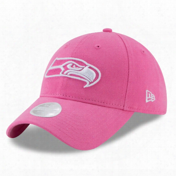 Seattle Seahawks Nfl Women's Preferred Pick Relaxed Fit 9twenty Cap - Pink
