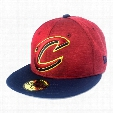 Cleveland Cavaliers Heather Huge Fit NBA 59FIFTY Cap