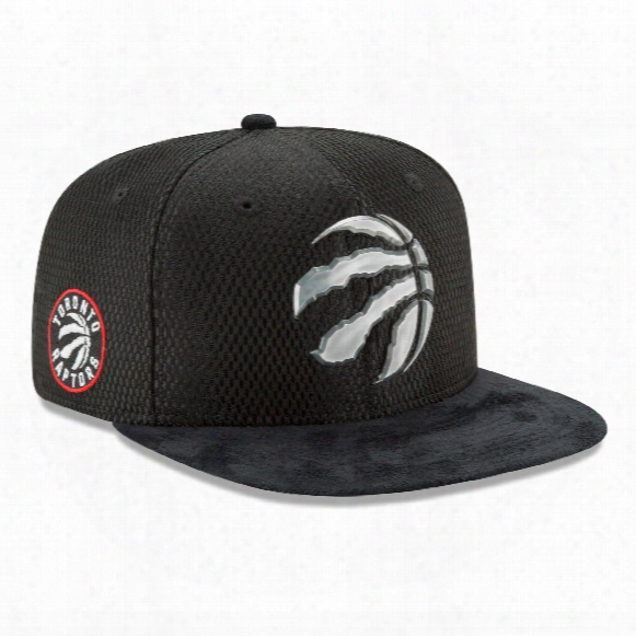 Toronto Raptors New Era Nba 2017 On Court Collection Draft 9fifty Snapback Cap