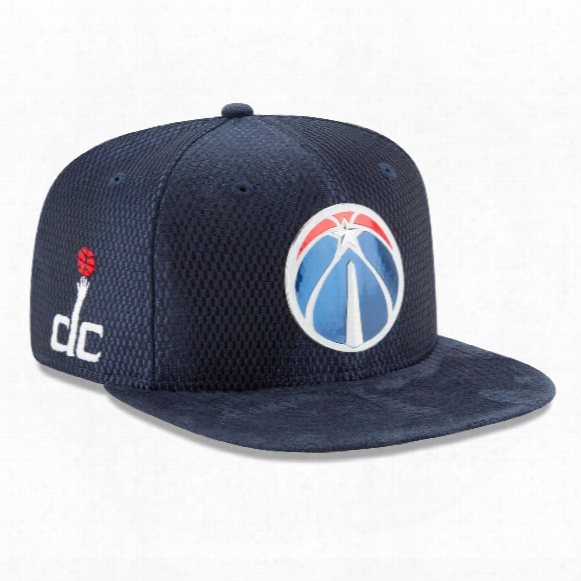 Washington Wizards New Era Nba 2107 On Court Collection Draft 9fifty Snapback