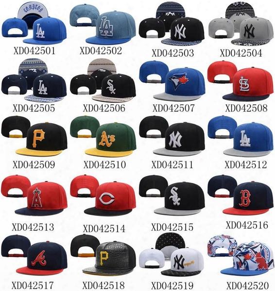 2015 Newest Baseball Snapbacks All Teams Caps Cheap Snapback Hats Brand Sports Hottest Team Snapbacks Flat Caps Cool Caps