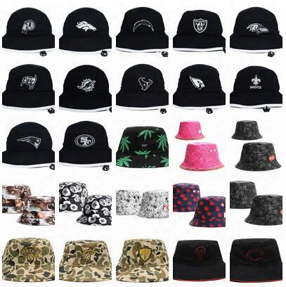 2015 Newest Nice Bucket Hats Buckets Caps Team Bucket Hats Baseball Caps Cap Snap Back Snapbacks Hat High Quality Mixed Order