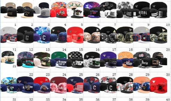 2016 Cayler & Sons Caps Hats Baseball Cap Adjustable Snapback Hats Baseball Caps Adult Baseball Cap Acceap Mix Order
