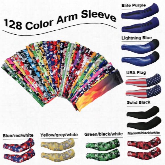 2016 Pur Baseball Camo Sports Arm Sleeves For Softball, Baseball