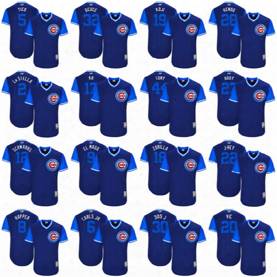 2017 Little League World Series Player Weekend Nickname Jersey Chicago Cubs Kris Bryant Javier Baez Anthony Rizzo Kyle Schwarber Ben Zobrist
