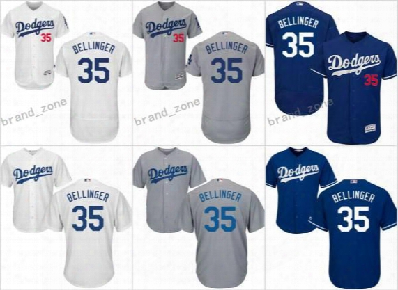 2017 Men Women Youth Los Angeles Dodgers Jerseys 35 Cody Bellinger Jersey Flexbase Cool Base White Grey Blue Kids Stitched Baseball