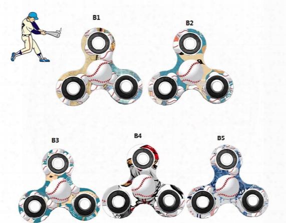 2017 New Baseball Fidget Spinner Toy Finger Spinner Hand Spinner Handspinner Edc Toy For Decompression Anxiety Relief
