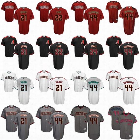 2017 Stars & Stripes Arizona Diamondbacks 44 Paul Goldschmidt 21 Zack Greinke 22 Jake Lamb 24 Yasmany Tomas Archie Bradley Baseball Jerseys