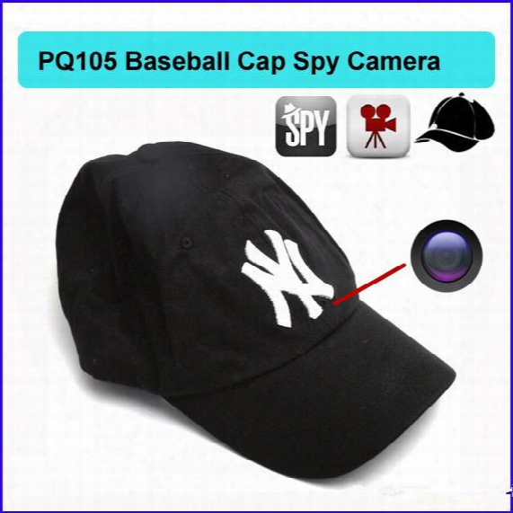 8gb Cap Hat Spy Camera Baseball Cap Hat Hidden Camera Video Camcorder With Remote Control Outdoor Mini Dvr Video Recorder Pq105