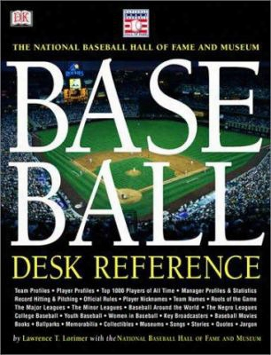 Baseball Desk Reference