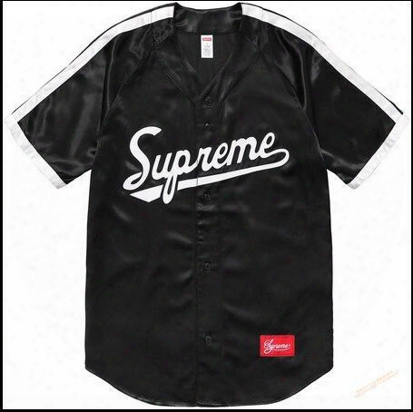 Chao Supremesu Justin Bibb Street Justin Bieber Baseball Un Iform Short Sleeved T-shirt With A Couple
