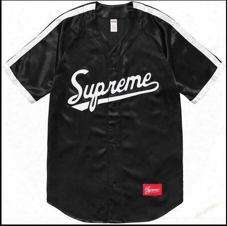 Chao Supremesu Justin Bibb Street Justin Bieber Baseball Un Iform Short Sleeved T-shirt With A Couple