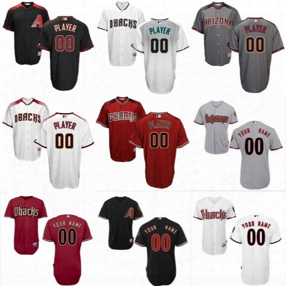 Custom Arizona Diamondbacks Jersey Personalized Cool Base Baseball Jerseys Cheap Embroidery Size S-4xl
