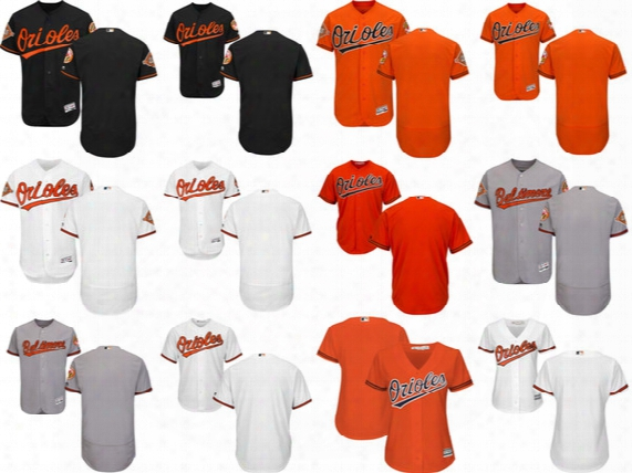 Customized Baltimore Orioles Men's Kid's Women's Baseball Personalized All Stitched Adult Youth Any Name&no. Flex / Cool Base Jerseys,to 6xl